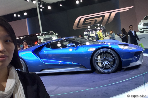 Ford GT at Auto Shanghai 2015 by Expat Edna
