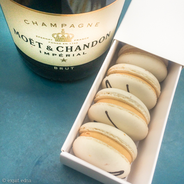 Macarons and champagne lunch by Expat Edna