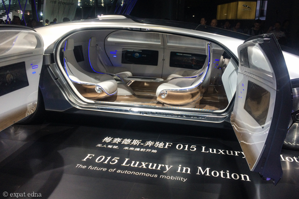 Mercedes concept car at Auto Shanghai 2015 by Expat Edna