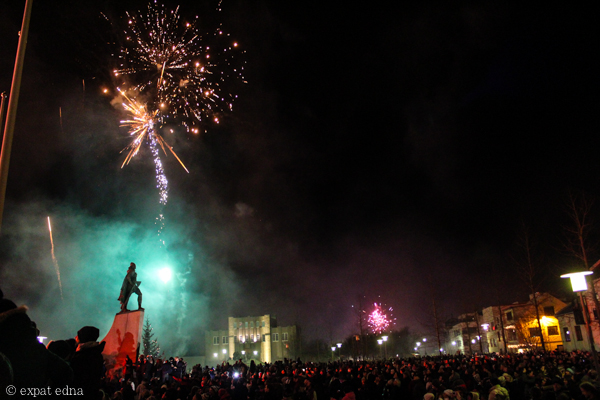 New Year's 2014, Reykjavik by Expat Edna