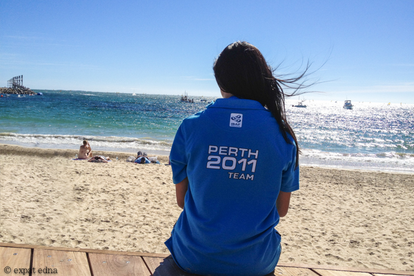 Perth 2011 Team by Expat Edna