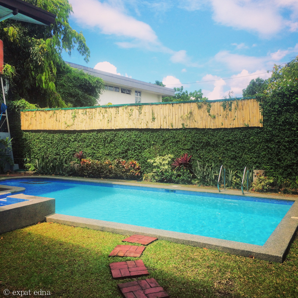 Poolside in Makati by Expat Edna