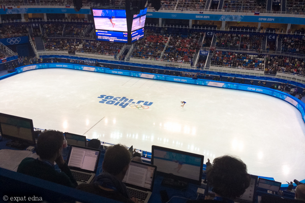 Sochi 2014 figure skating by Expat Edna