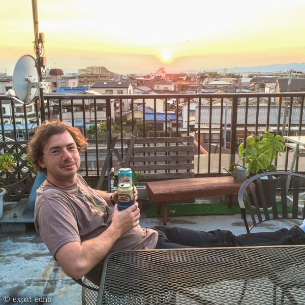 Airbnb rooftop, Neyagawa by Expat Edna
