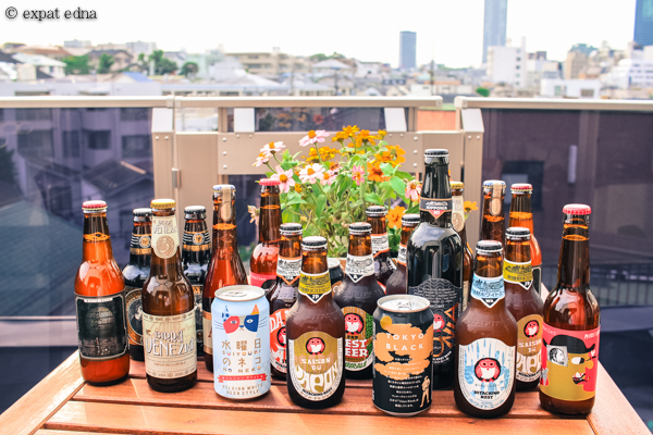Balcony beers, Tokyo by Expat Edna