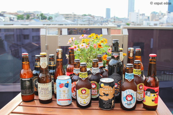 Beers on the balcony, Tokyo by Expat Edna