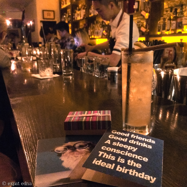 Birthday drinks, Shanghai by Expat Edna