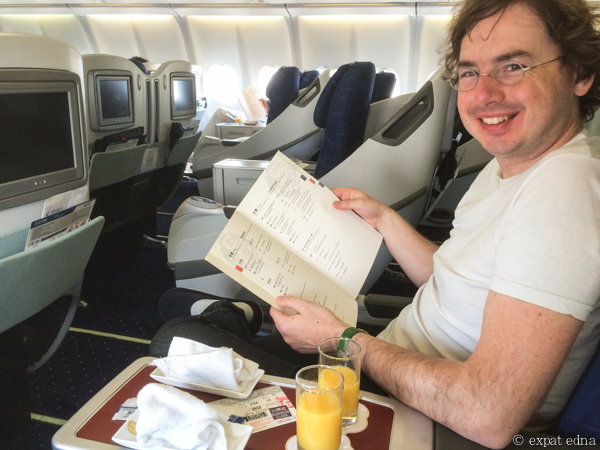 Business class to Tokyo! by Expat Edna