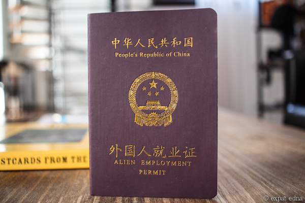 Chinese Alien Employment Permit by Expat Edna