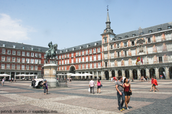 Plaza Mayor, Madrid - Expat Edna