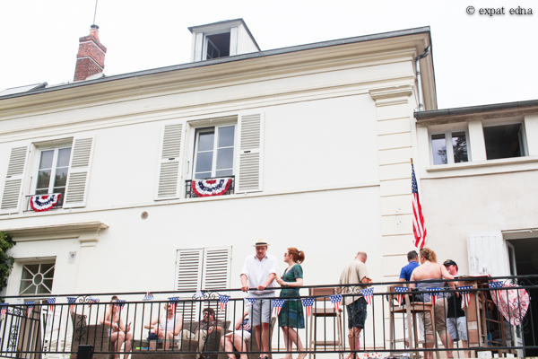 4th of July BBQ in Lardy, France by Expat Edna