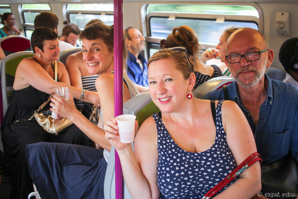 Apero on the RER by Expat Edna-2