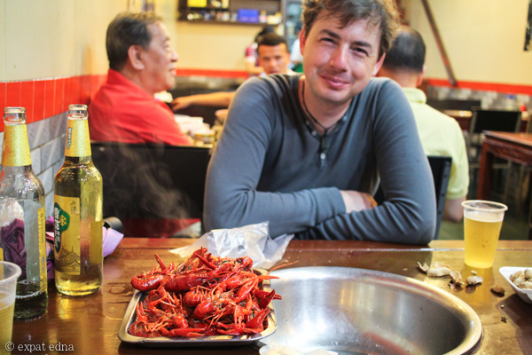 Crawfish season in Shanghai by Expat Edna