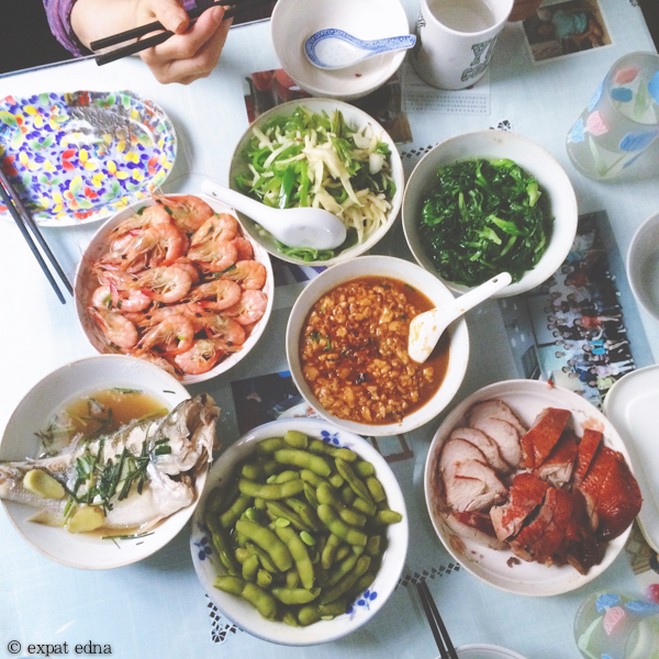 Homecooked Shanghainese - Expat Edna on instagram by Expat Edna