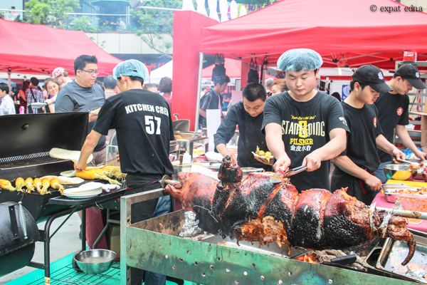 Hongqiao craft beer festival by Expat Edna