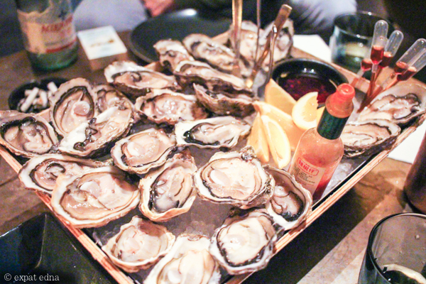 Oyster night at the Nest, Shanghai by Expat Edna