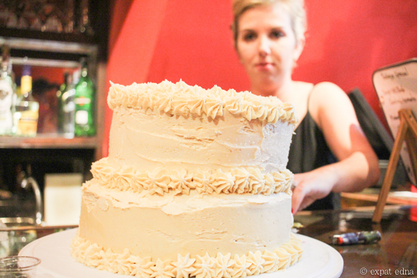 Timi's White Russian cake by Expat Edna