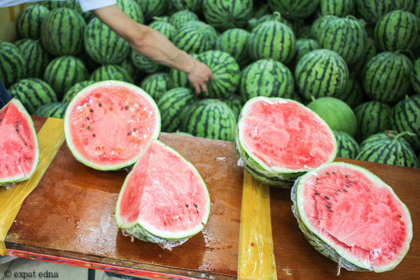 Watermelon summer, Shanghai by Expat Edna