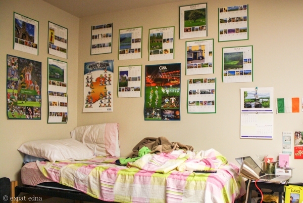 College dorm decorations by Expat Edna