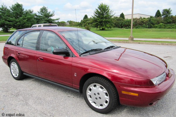 My 1996 Saturn by Expat Edna