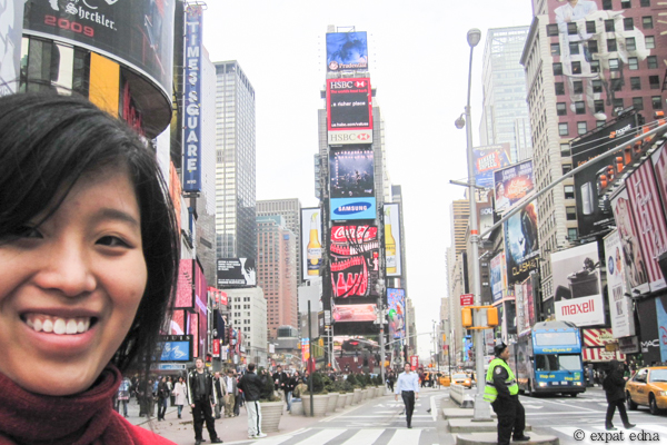 Solo trip to NYC, March 2010 by Expat Edna