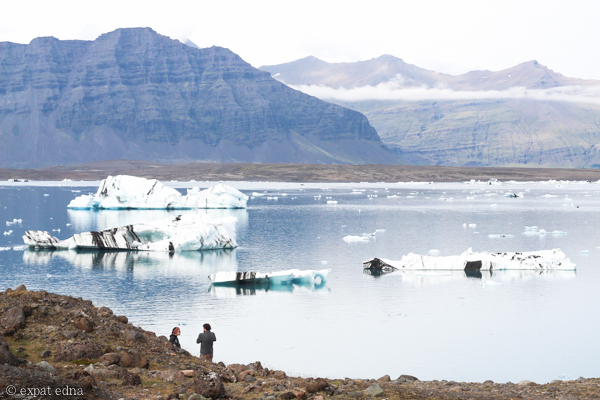 Glacier Lagoon, Iceland by Expat Edna