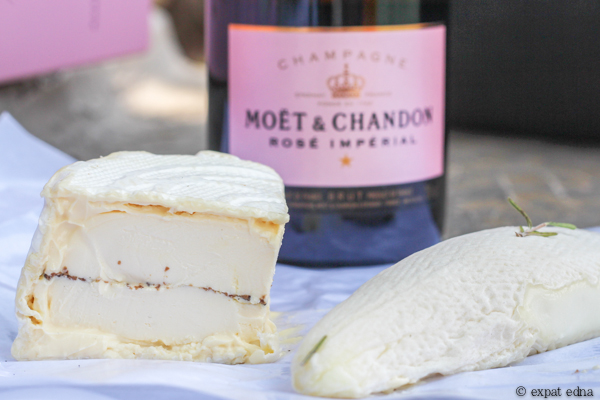 Truffle cheese and Champagne by Expat Edna