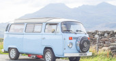 Groovy, Baby: Touring Wales in a 1970s VW Campervan