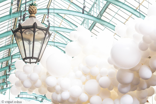 Covent Garden balloons by Expat Edna
