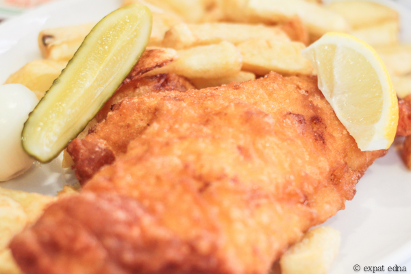 Masters Fish & Chips, London by Expat Edna