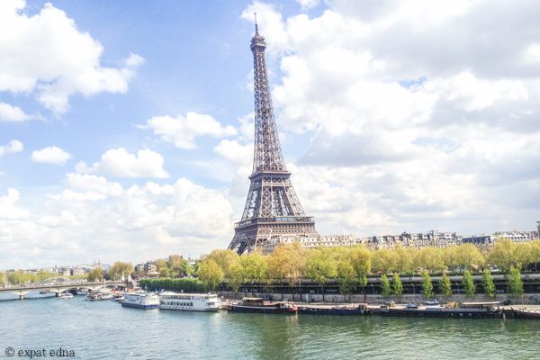 My commute in Paris by ExpatEdna.com