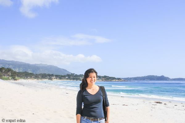 Carmel Beach by ExpatEdna.com