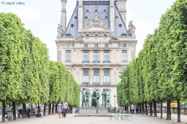 Tuileries Garden, Paris by ExpatEdna.com