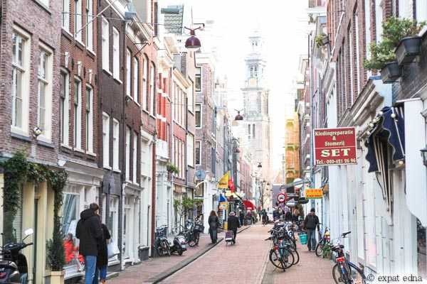 Amsterdam streets by Expat Edna