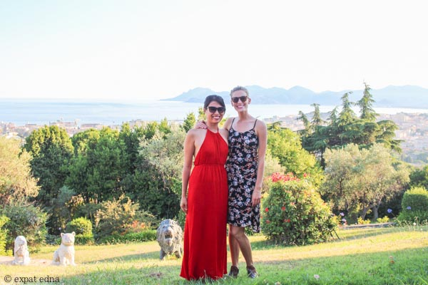 Edna and Julie in Cannes by Expat Edna